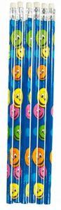 Smiley Faces Theme Pencil