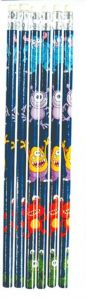 Monster Theme Pencil - 6 Pack