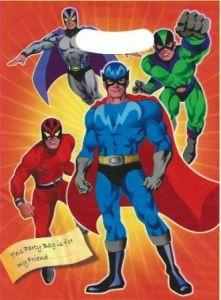 Super Hero Themed Loot Bag