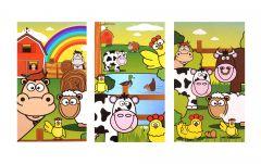 Farm Theme Notebook - 6 Pack