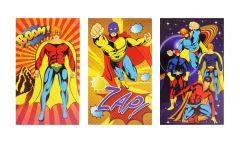 Superhero Theme Notebook - 6 Pack