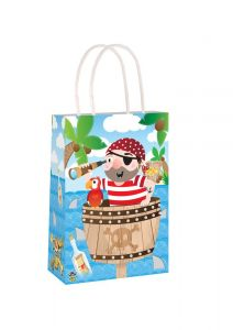 Pirate Themed Paper Loot Bag