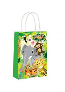 Jungle Themed Paper Loot Bag
