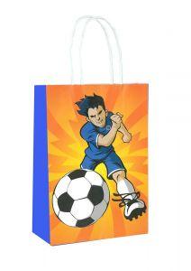 Football Themed Paper Loot Bag