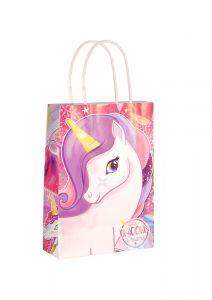 Unicorn Themed Paper Loot Bag