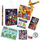 Superhero Theme Premium Pre Filled Party Bag Contents