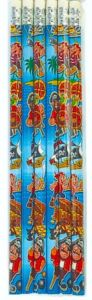 Pirate Theme Pencil - 6 Pack