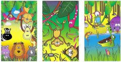 Jungle Theme Notebook - 6 Pack