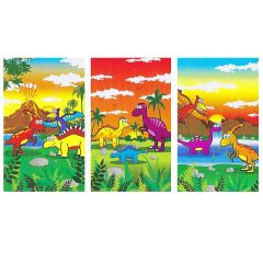 Dinosaur Theme Notebook - 6 Pack