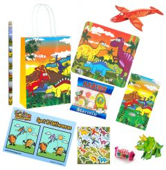 Dinosaur Theme Premium Pre Filled Party Bag Contents