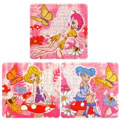 Fairy Theme Puzzle Jigsaw 6 Pack