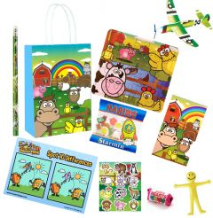 Farm Theme Premium Pre Filled Party Bag Contents