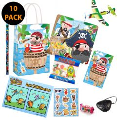 Pirate Theme Premium Pre Filled Party Bag Contents