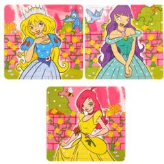 Princess Theme Puzzles - 6 Pack