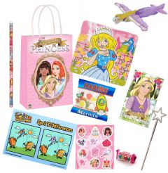 Princess Theme Premium Pre Filled Party Bag Contents