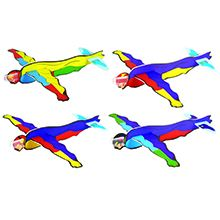 Superhero Theme Flying Glider
