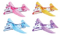 Unicorn Theme Flying Glider - 4 Pack