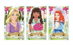 Princess Theme Notebook - 6 Pack