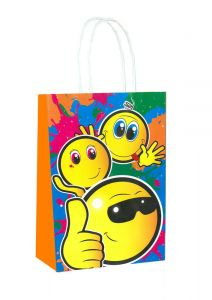Smiley Faces Paper Loot Bag Bag