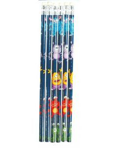 Monster Themed Pencil - 6 Pack