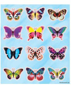Butterfly Themed Stickers