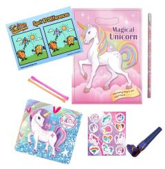 Unicorn Themed Pre Filled Party Bag Contents