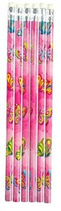 Butterfly Theme Pencil - 6 Pack