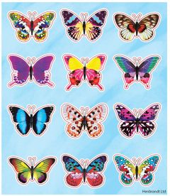 Butterfly Themed Stickers - 10 Pack