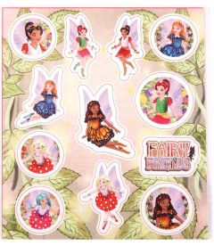 Fairy Themed Stickers 10 Pack
