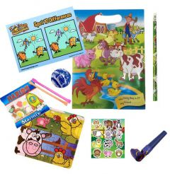 Farm Themed Party Bag Contents