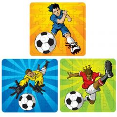 Football Theme Puzzles - 6 Pack