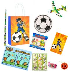 Football Theme Premium Pre Filled Party Bag Contents