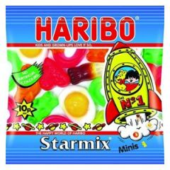 Single Haribo Starmix pack
