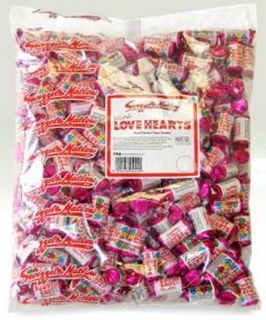 Swizzels Matlow Mini Love Hearts 3 kg bag