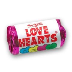 Single mini pack of Love Hearts