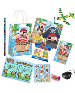 Pirate Pre Filled Party Bag Contents