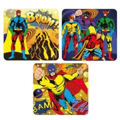 Superhero Theme Puzzle Jigsaw 6 Pack