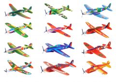 Flying power prop gliders