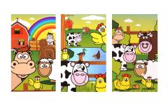 Farm Theme Notebook - 6 Pack