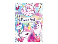 Unicorn Puzzle/Colour Book - 6 Pack