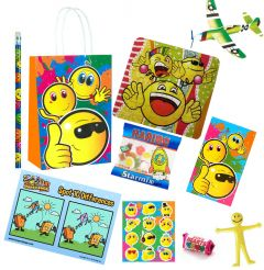 Smiley Faces Theme Premium Pre Filled Party Bag Contents