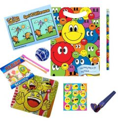 Smiley Faces Party Bag Contents
