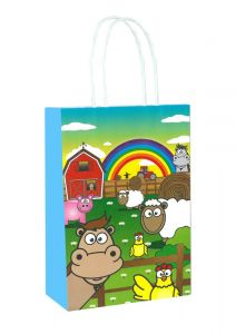 Farm Themed Paper Loot Bag