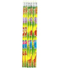 Jungle Themed Pencil - 6 Pack