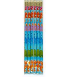 Dinosaur Themed Pencil - 6 Pack