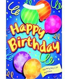 Happy Birthday Blue Loot Bag
