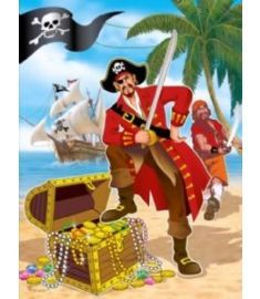 Pirate Themed Loot Bag