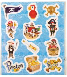 Pirate Themed Stickers