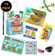 Pirate Pre Filled Party Bag Contents 10 Pack
