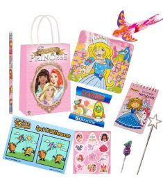 Princess Themed Pre Filled Party Bag Contents